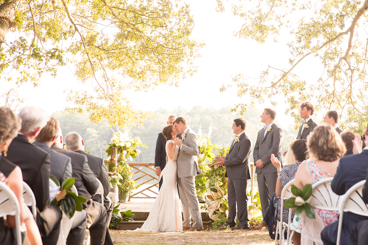What Time Should You Start Your Outdoor Wedding Ceremony  J&D Photo LLC  Richmond, Virginia