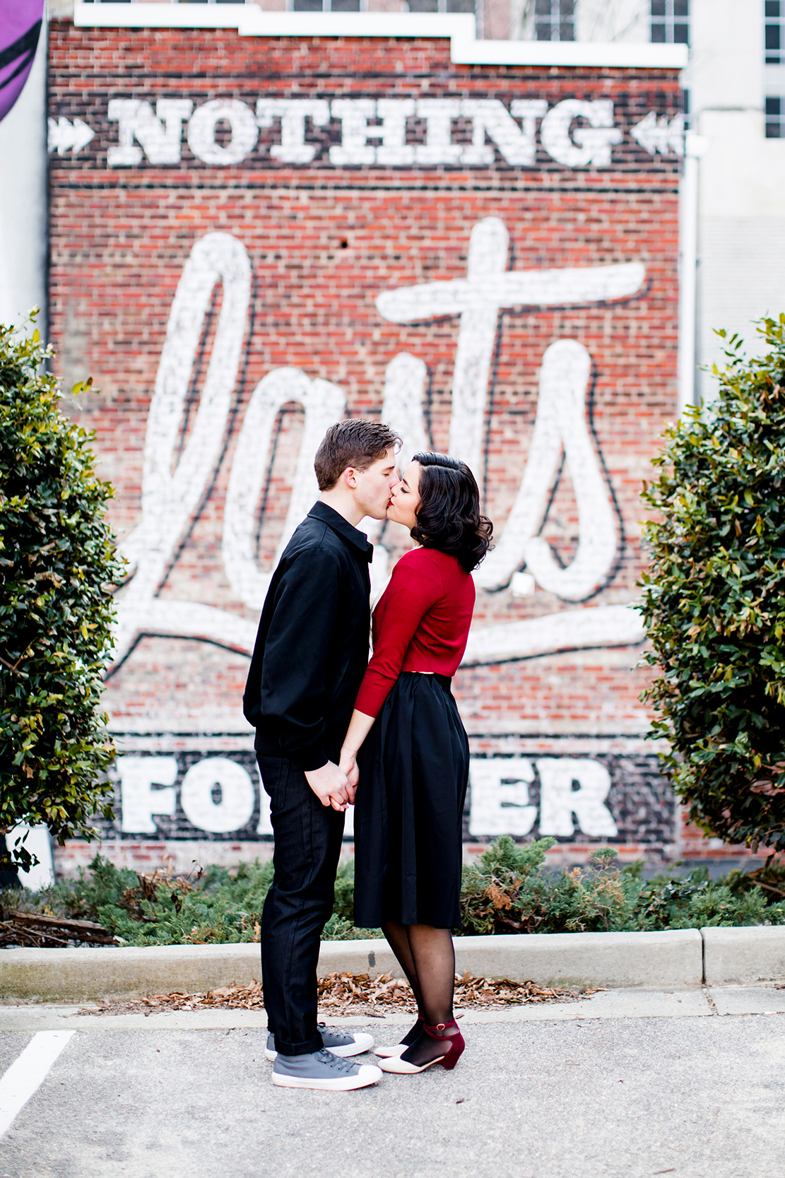 1950s Inspired Styled Couples Shoot - Image Property of www.j-dphoto.com