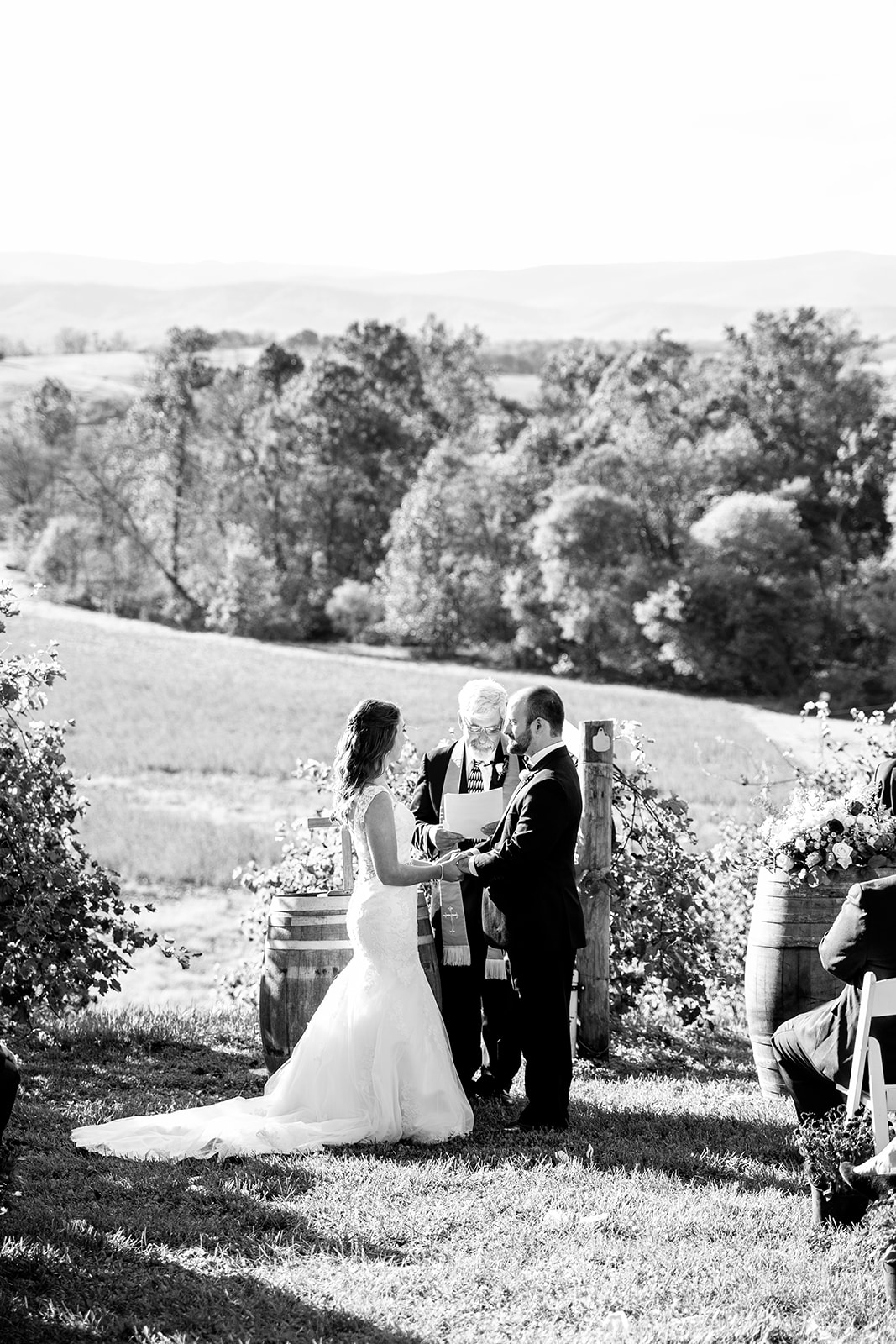 Alexa  Nathans Fall Wedding at Bluestone Vineyard - Image Property of www.j-dphoto.com