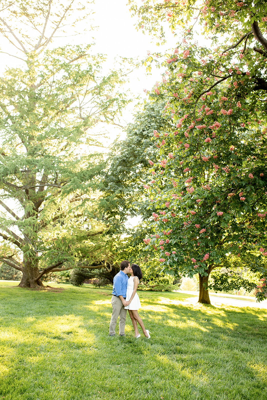 Karen  Dannys Maymont Engagement Shoot - Image Property of www.j-dphoto.com