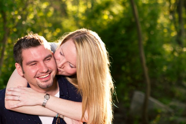 Kristin  Jesse  James River Engagement Session - Image Property of www.j-dphoto.com