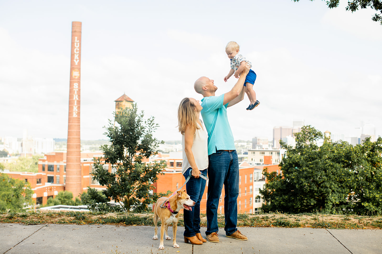 Libby Hill Park One Year Old Mini Family Photo Shoot - Image Property of www.j-dphoto.com