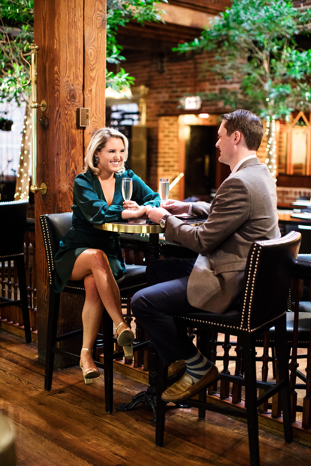 How to Plan a Date Night Engagement Photo Shoot - Image Property of www.j-dphoto.com