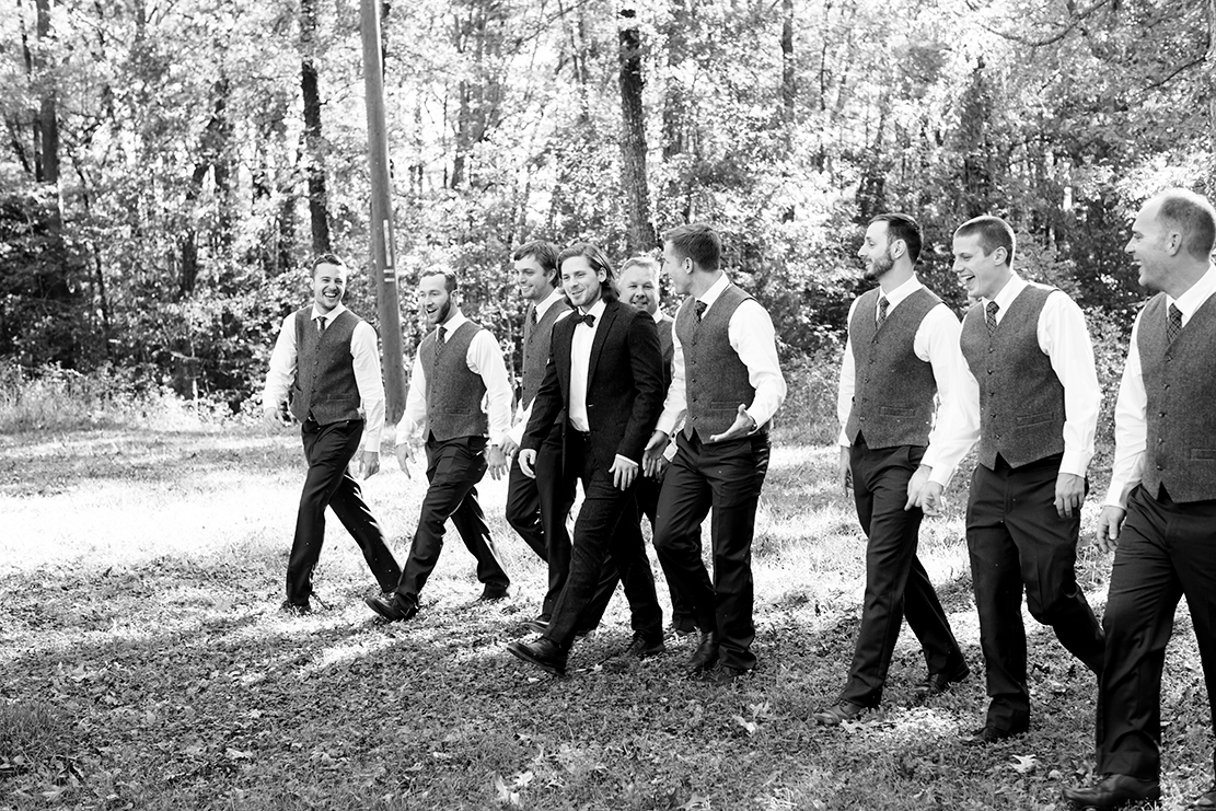 Megan  Joshs Wedding in the Woods - Image Property of www.j-dphoto.com