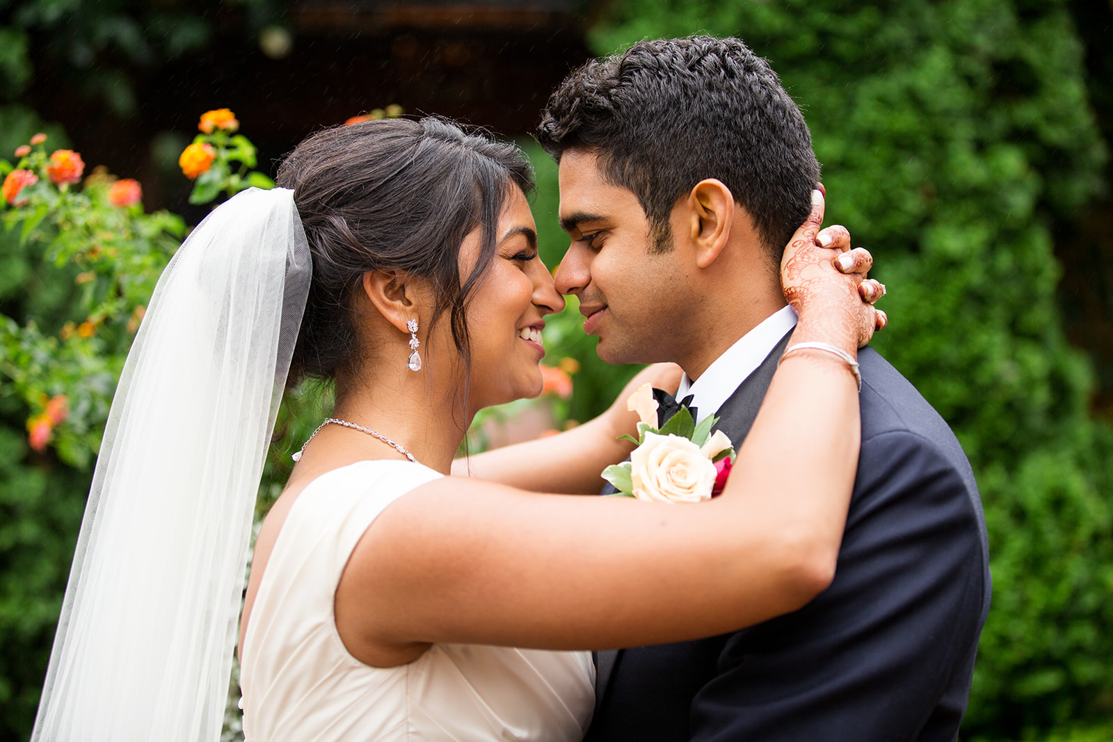 Priyanka  Chandras Indian American Fusion Wedding - Image Property of www.j-dphoto.com