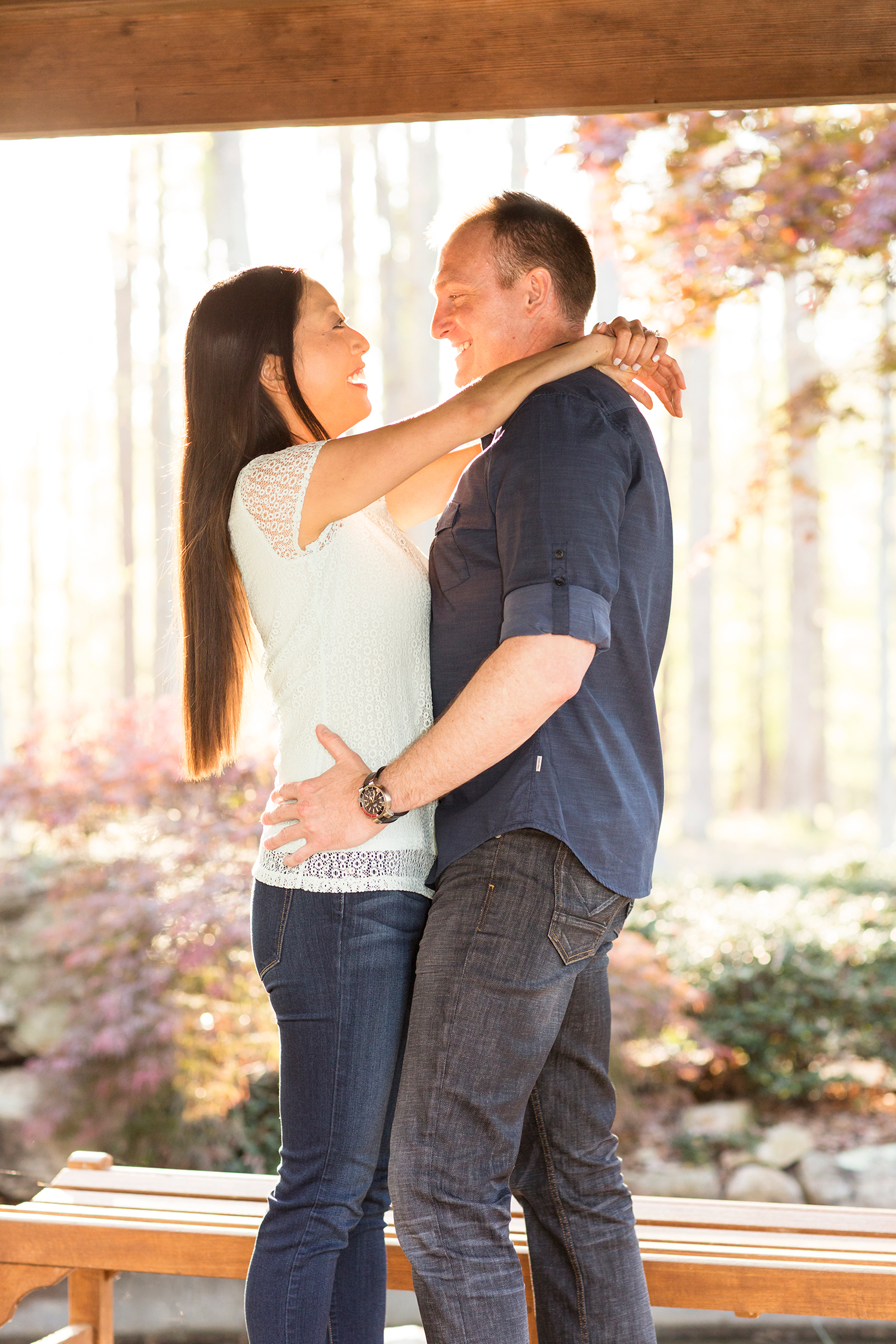 Spring Engagement Shoot at Celebrations - Image Property of www.j-dphoto.com