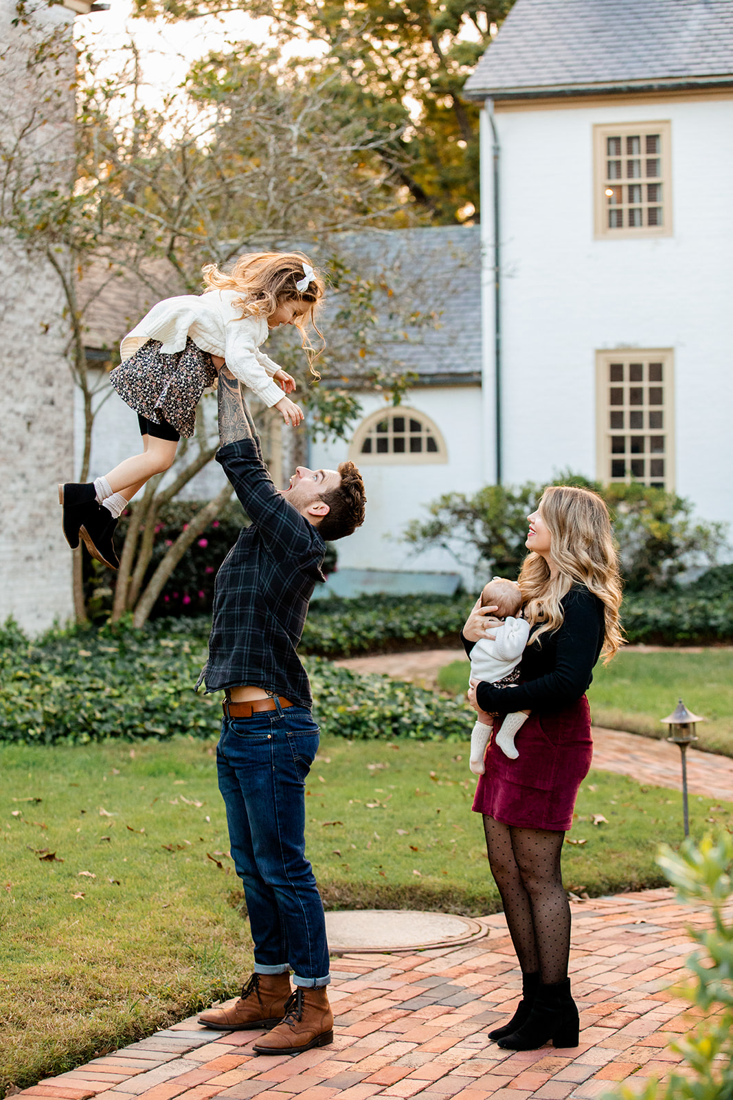 The Bogue Family Photos at The Williamsburg Inn - Image Property of www.j-dphoto.com