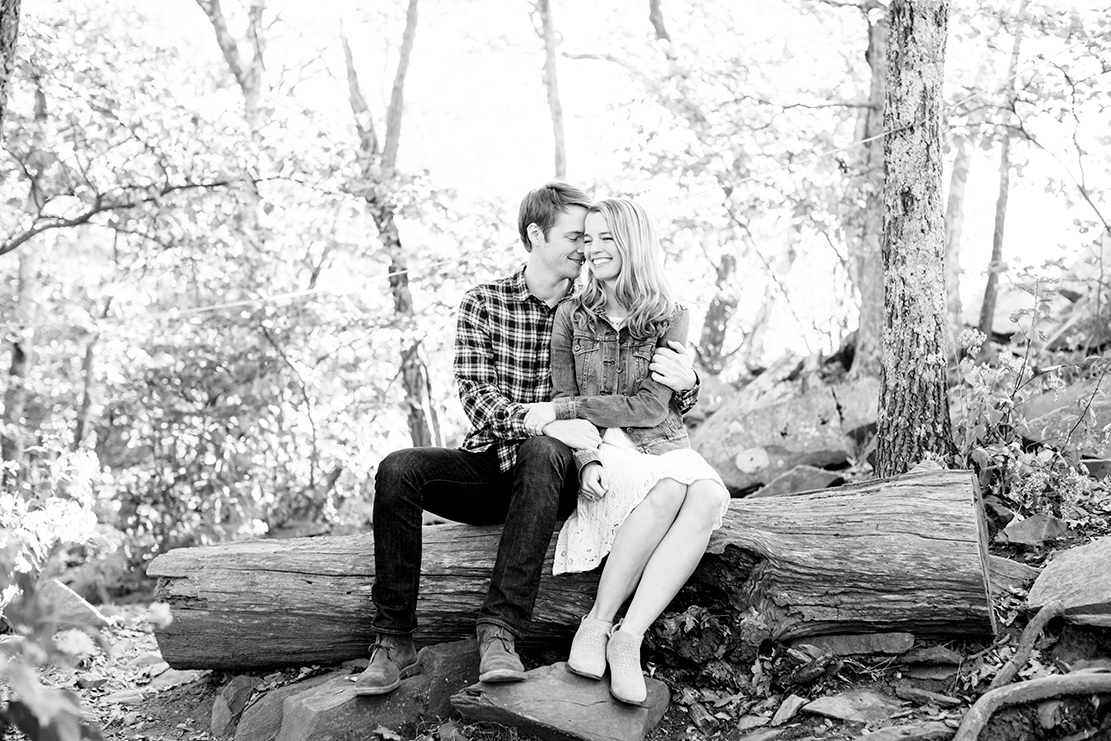 Beth  Devins Engagement Shoot at Humpback Rock - Image Property of www.j-dphoto.com