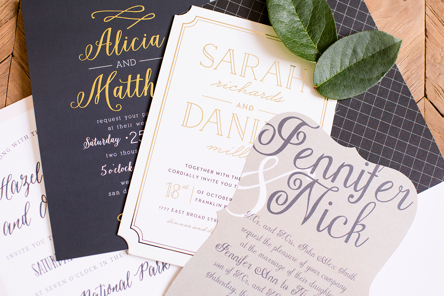 Best Online Wedding Invitations JD Photo LLC Richmond Virginia