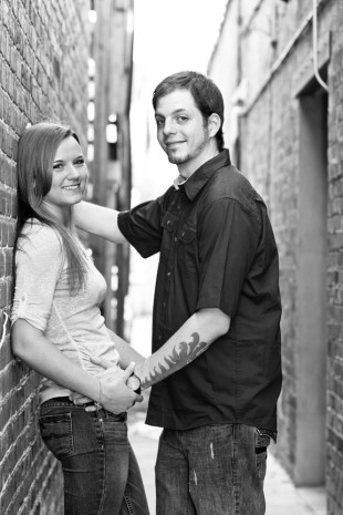 Chelsea  Davids Carytown Engagement Session - Image Property of www.j-dphoto.com