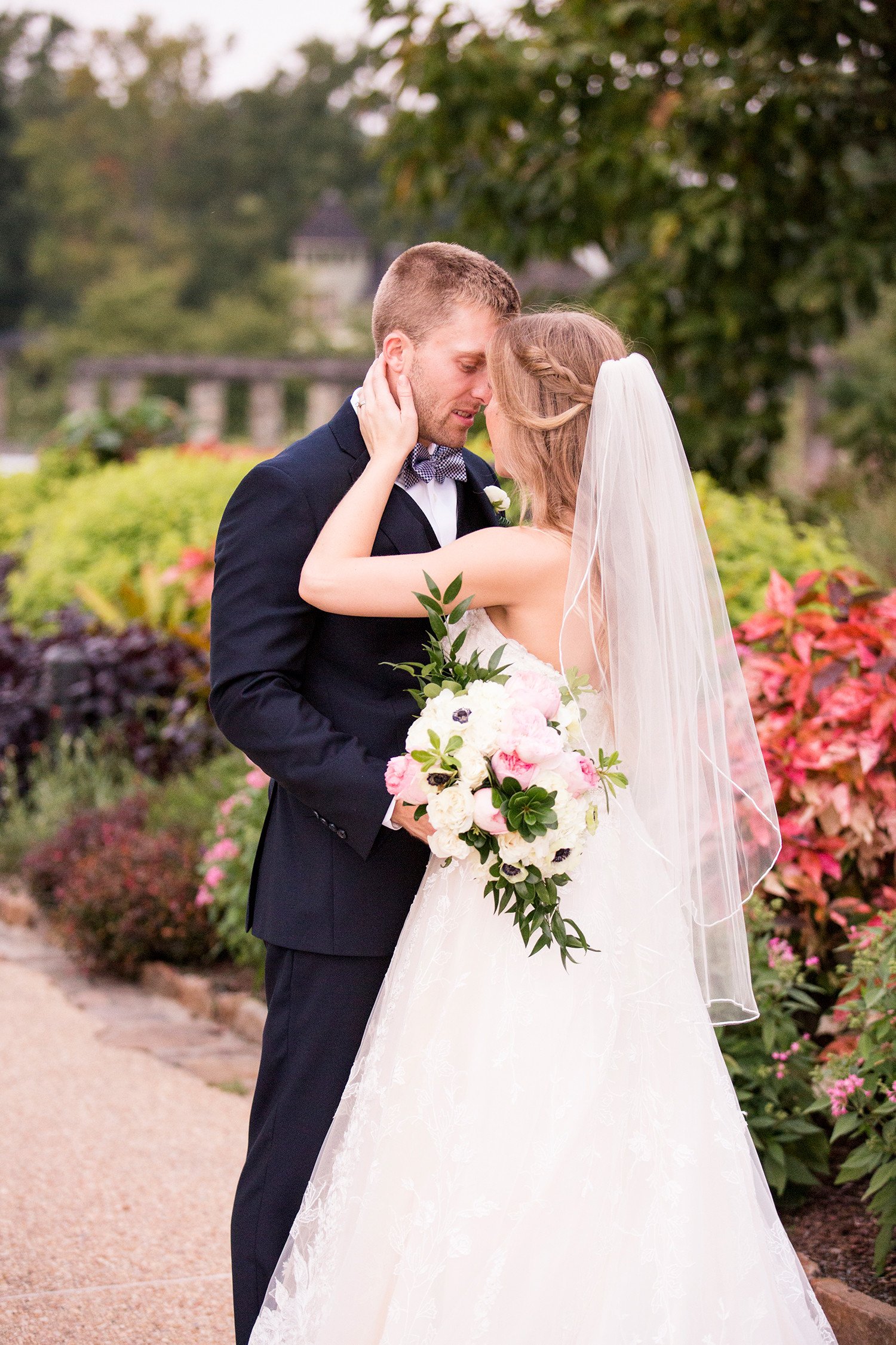 Danielle  Jimmys Garden Wedding - Image Property of www.j-dphoto.com