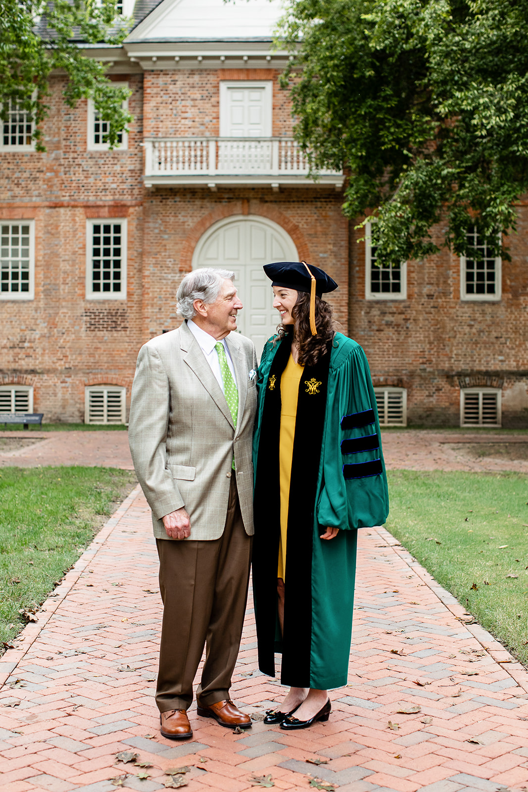 William  Mary Law School Graduation  Family Photos  - Image Property of www.j-dphoto.com