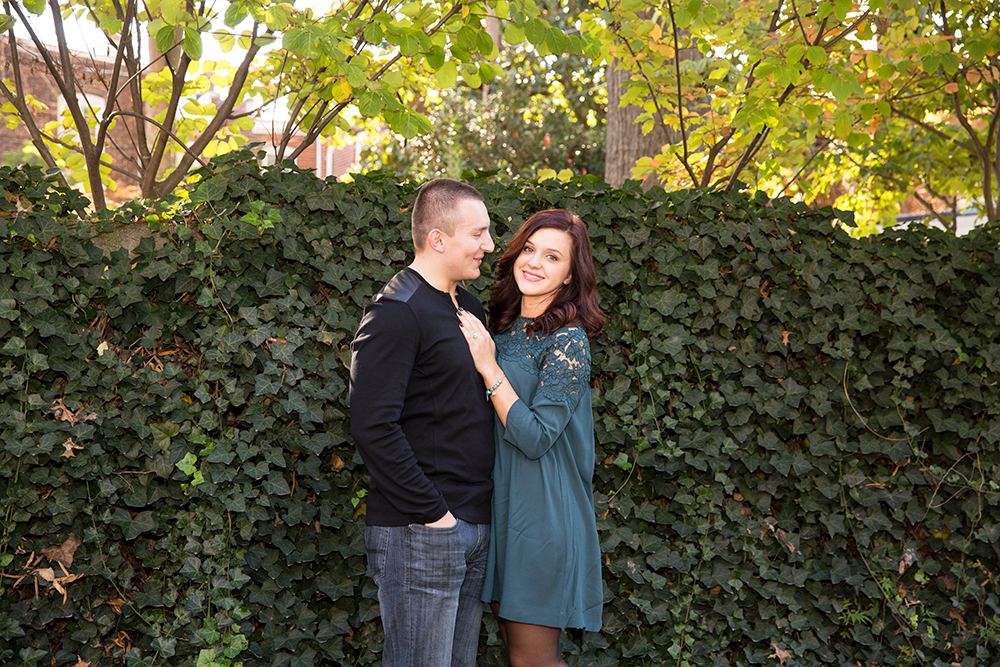 Fan and Belle Isle Fall Engagement Photos - Image Property of www.j-dphoto.com