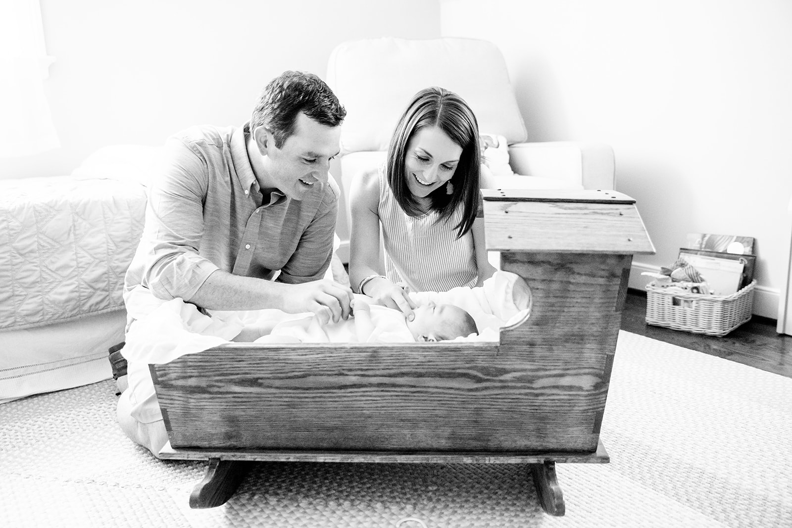 Baby Guilds Lifestyle Newborn Shoot - Image Property of www.j-dphoto.com