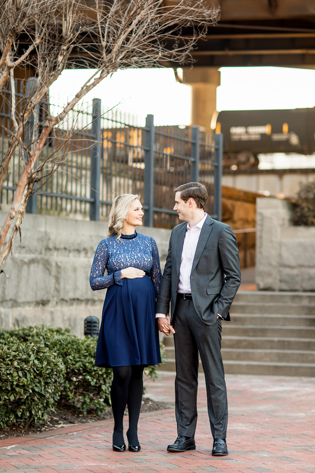 Ashley  Colins Maternity Photos at Main Street Station - Image Property of www.j-dphoto.com