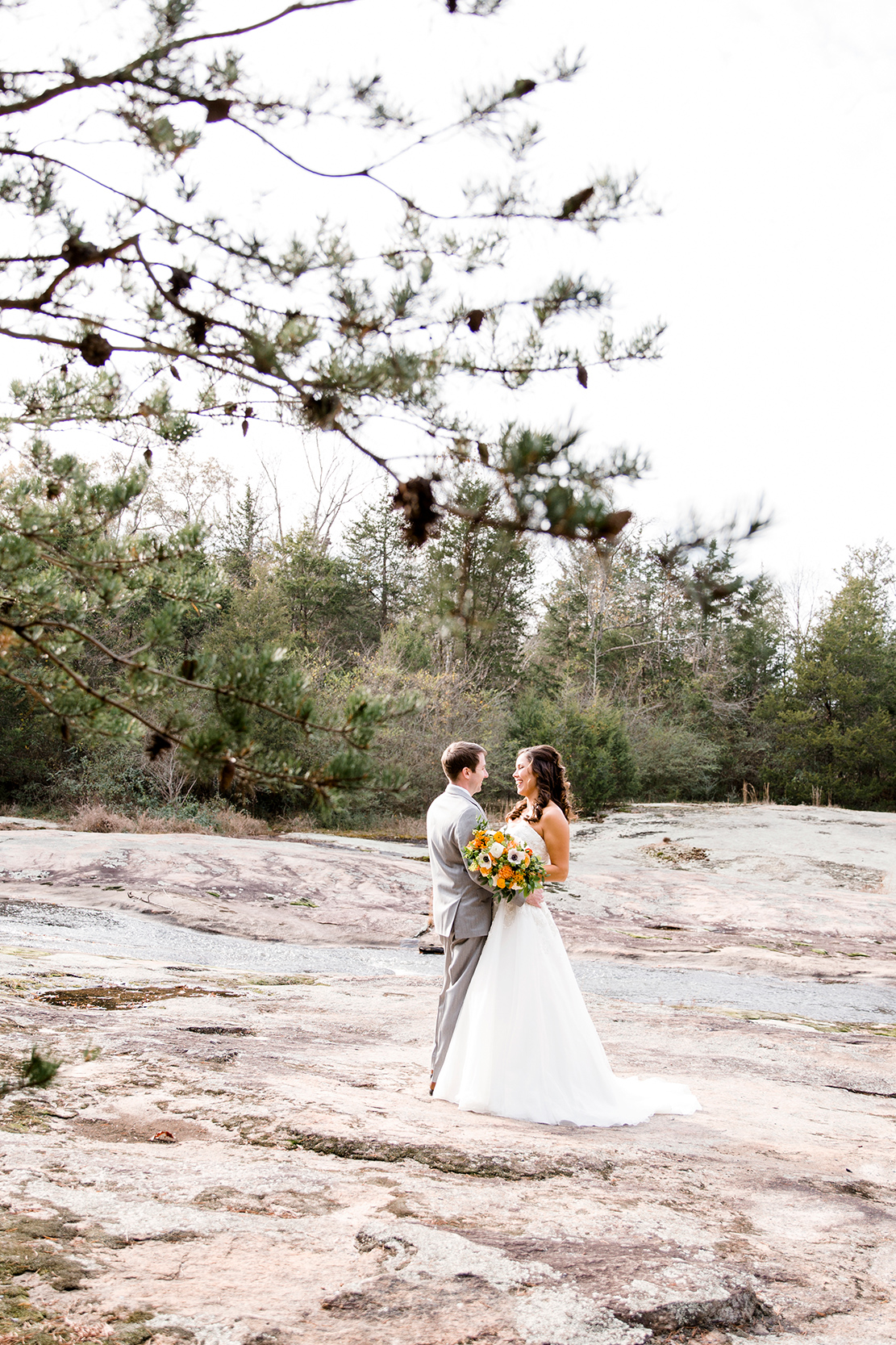 Kate Jessie S Fall Wedding At The Mill At Fine Creek