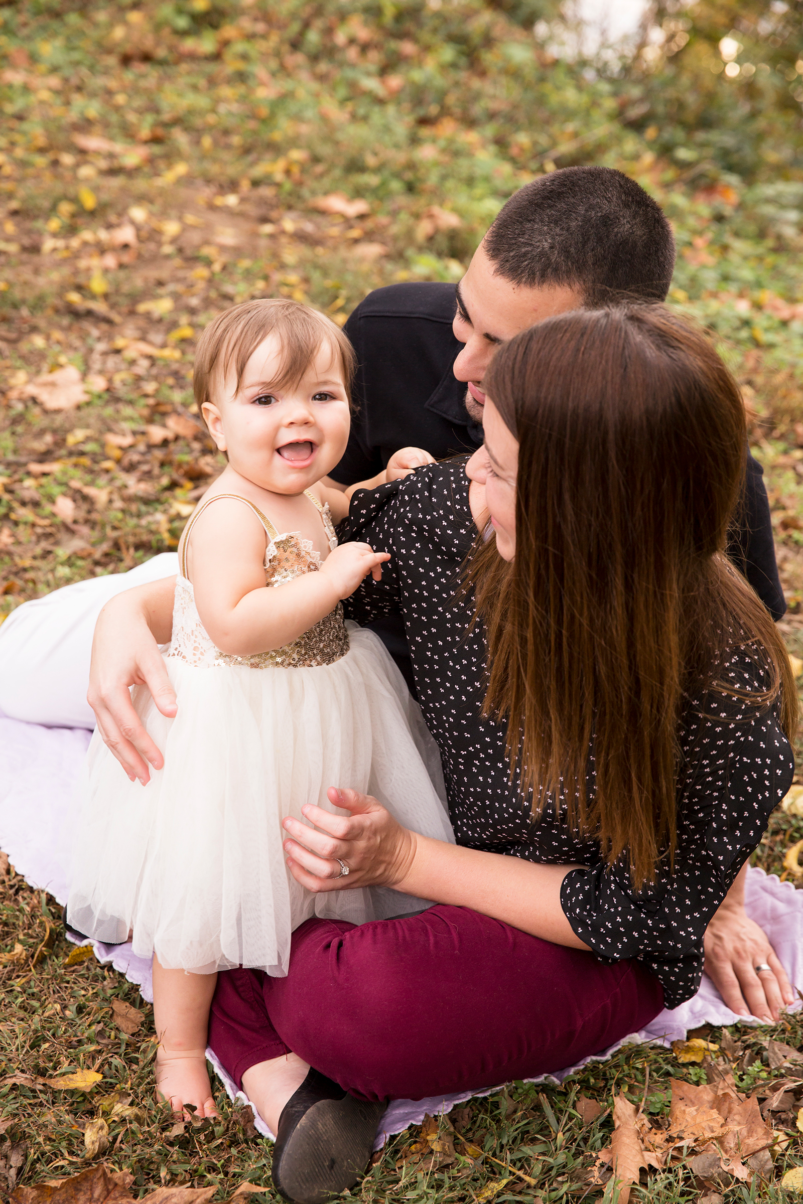 One Year Old Birthday Shoot in Powhatan Virginia  - Image Property of www.j-dphoto.com