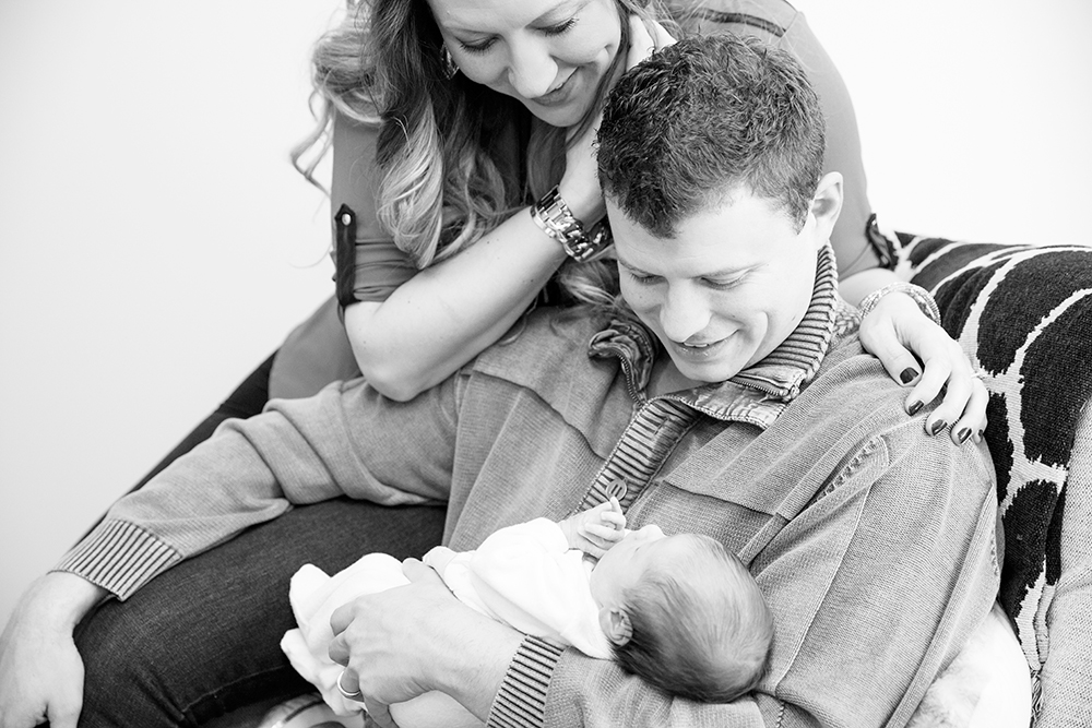 Lanks Family At Home Newborn Session - Image Property of www.j-dphoto.com