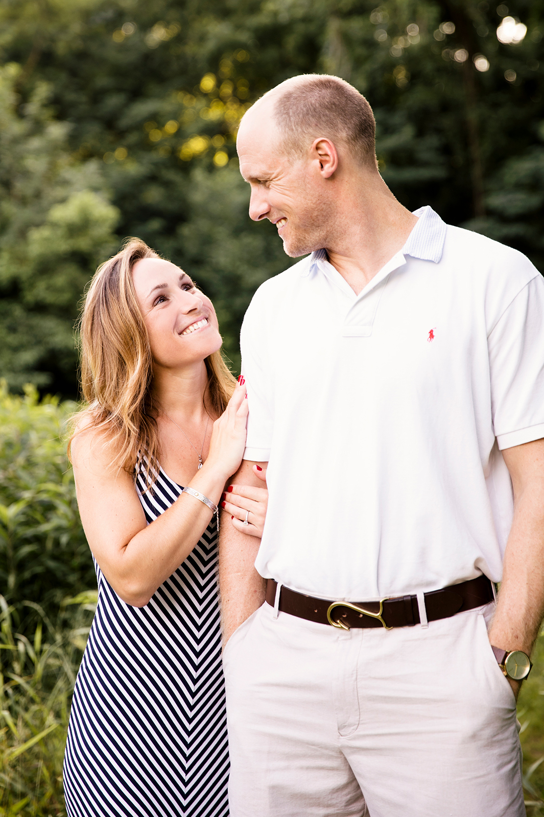 Lauren Will S James River And Libby Hill Engagement