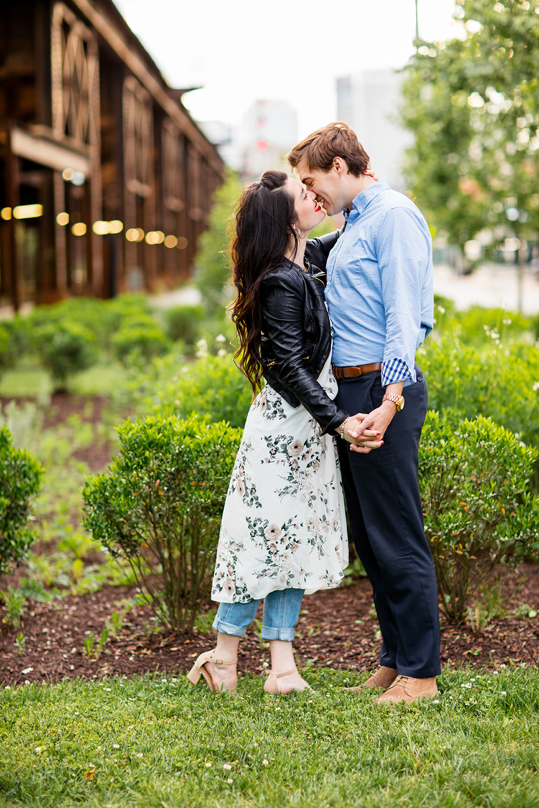 Mallory  Pauls Shockoe Bottom Engagement Shoot - Image Property of www.j-dphoto.com