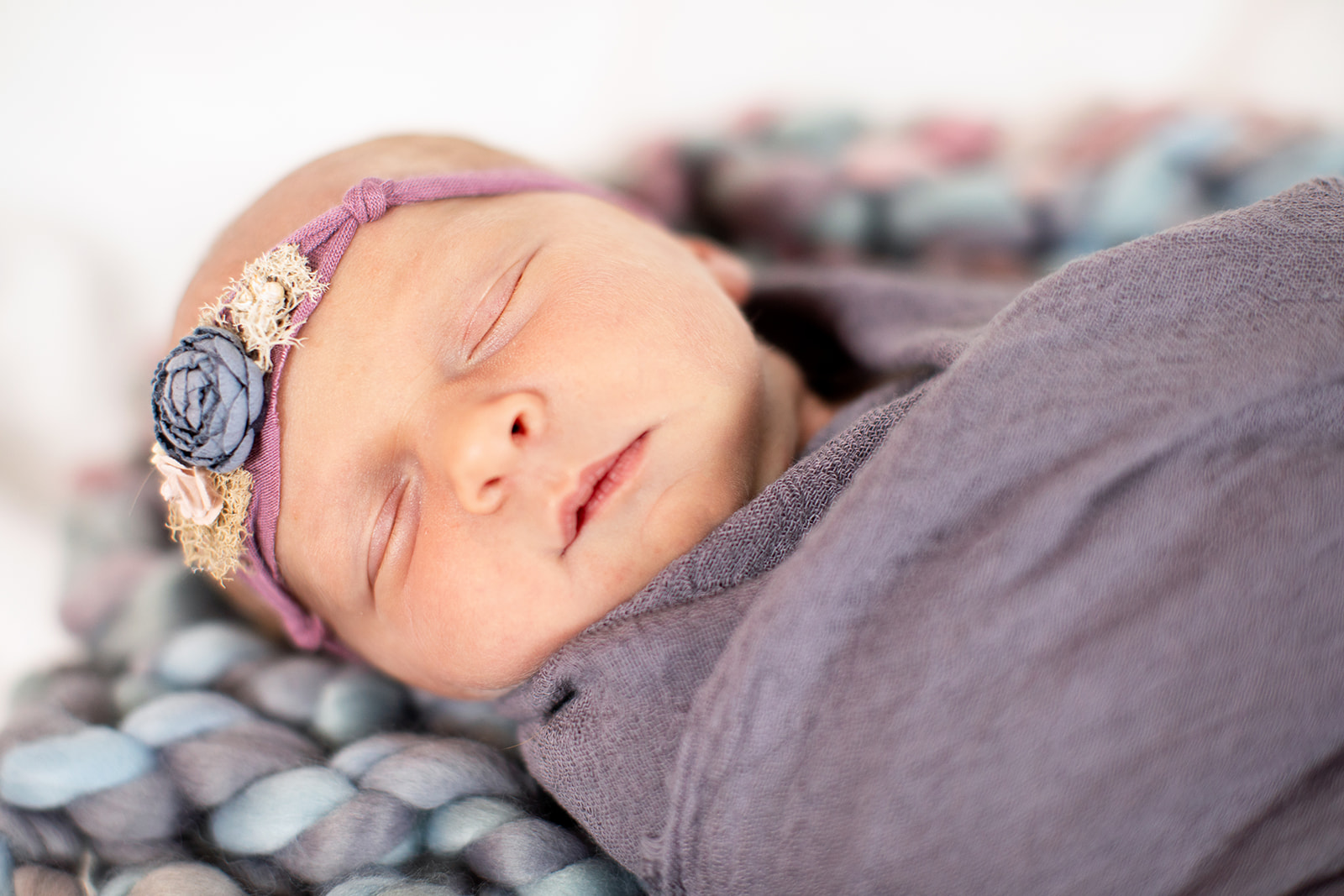 Avonlea Noelles Studio Newborn Photo Shoot - Image Property of www.j-dphoto.com