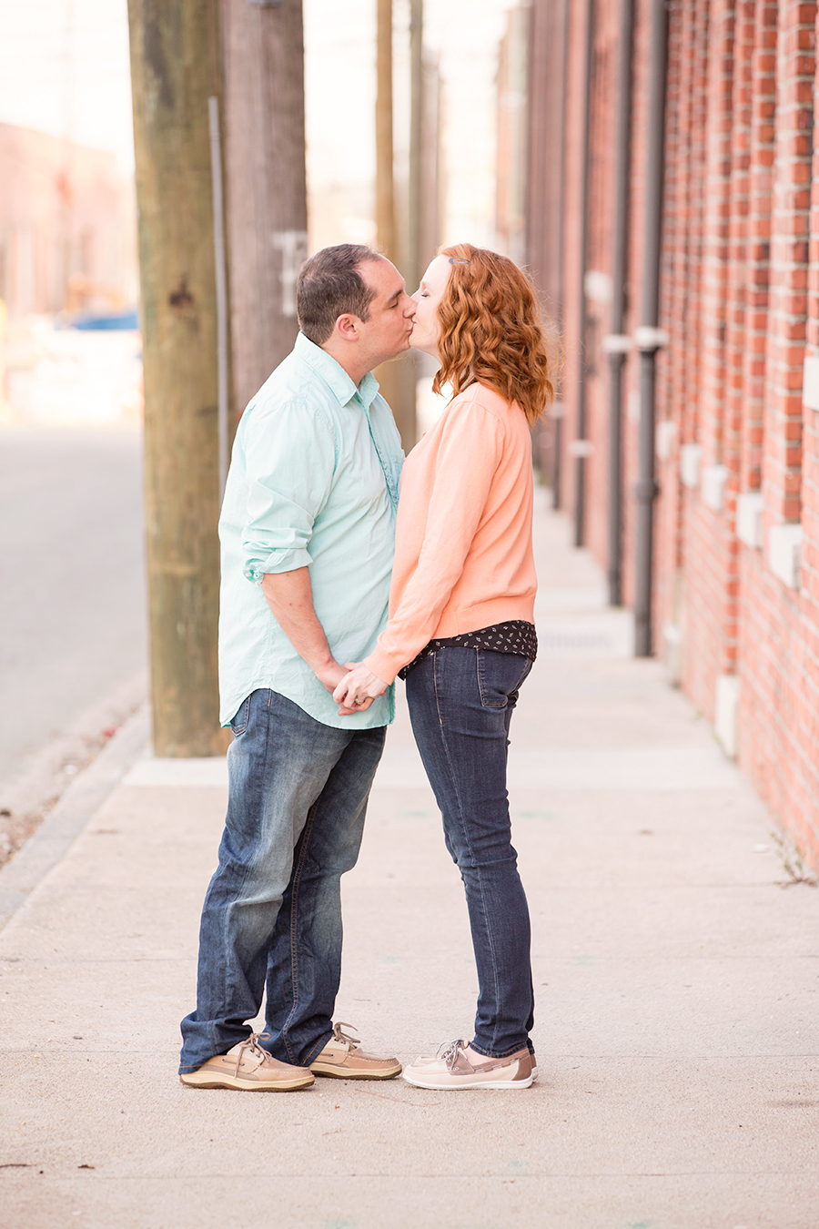 Jeff  Rachaels Carytown Engagement Shoot - Image Property of www.j-dphoto.com