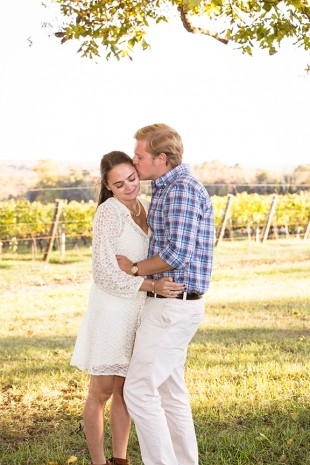Rebecca  Johns Vineyard Engagement Session - Image Property of www.j-dphoto.com