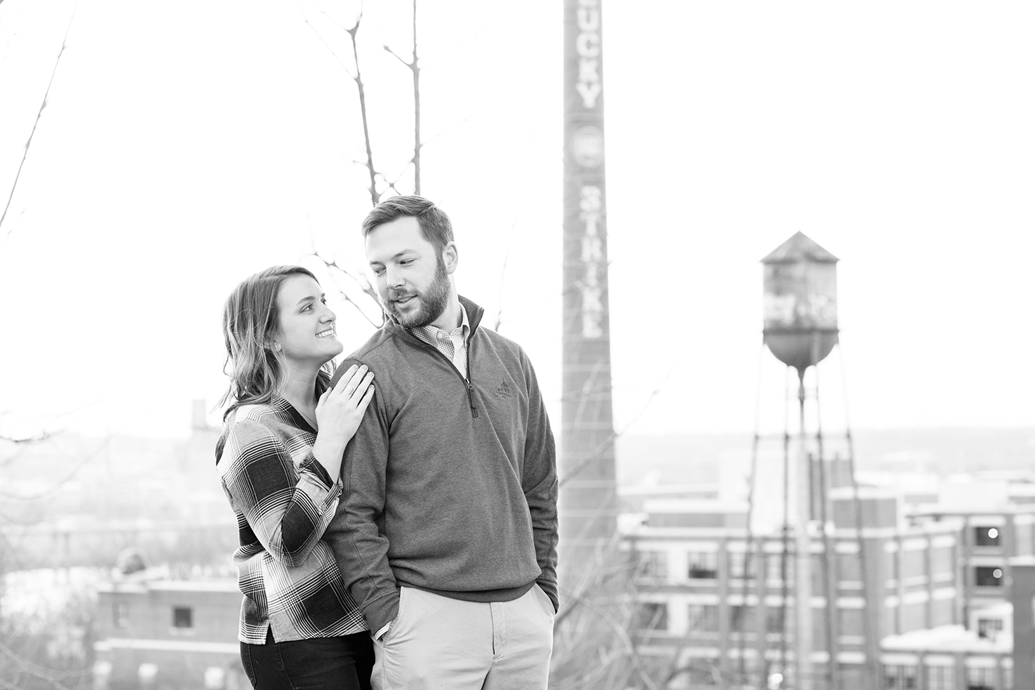 Sarah  Clarks Very Richmond Engagement Session - Image Property of www.j-dphoto.com