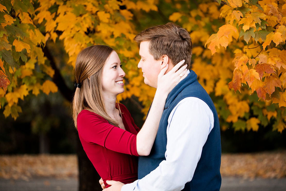 Susan  Sams Fall Engagement Shoot at Forest Hill Park - Image Property of www.j-dphoto.com