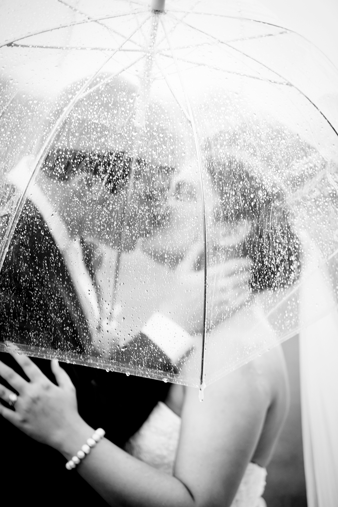 How to Rock a Rainy Wedding day - Image Property of www.j-dphoto.com