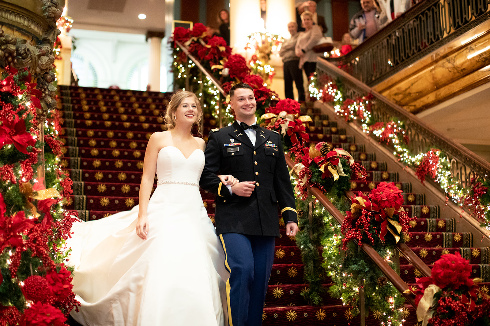 Holly  Elliotts Holiday Wedding at The Jefferson Hotel - Image Property of www.j-dphoto.com